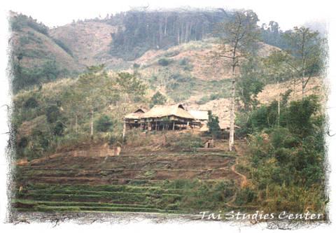 Tai farm house.