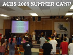 Click to see photos of the 2005 Summer Camp.