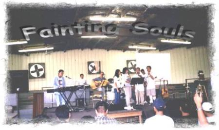 Some members of the Fainting Souls will help lead the worship at the camp.