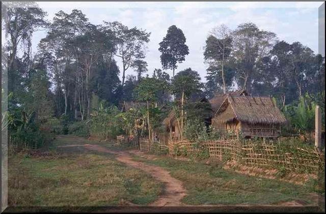 Farm village in Laos, used by permission.